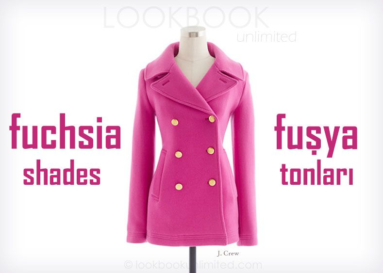 Lookbook Unlimited: Fuchsia Shades
