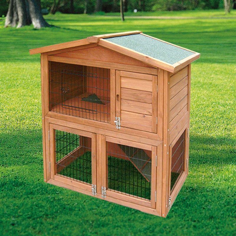Fotos de jaula de madera para conejos modelo praga en espa a 3077415 agroterra conejos - Casas para gallinas ...