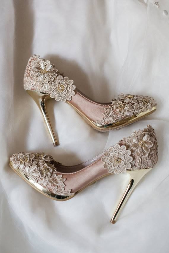 ca87f461ac3 40 Scintillating Vintage Wedding Shoes to Wear on Themed Weddings ...