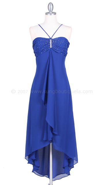 0f544c972f Suitable for prom. royal blue bridesmaid dress