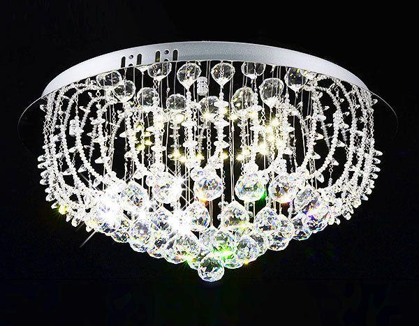 KONSTANZA-18W LED Kronleuchter KRISTALL Deckenleuchte Lüster Leuchte