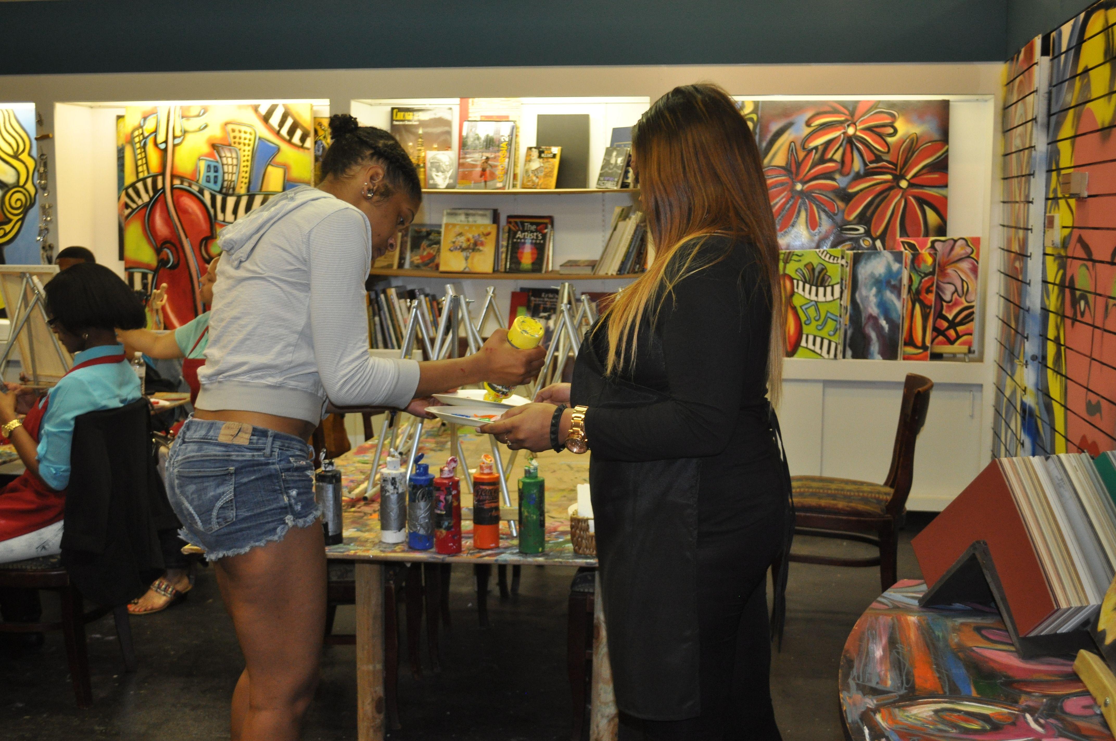 Atlanta schools offer art classes decatur