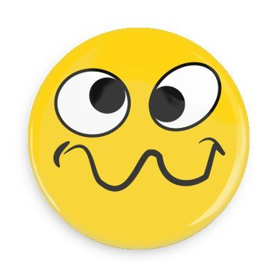 funny buttons custom buttons promotional badges smiley face rh pinterest ca  silly happy face clip art