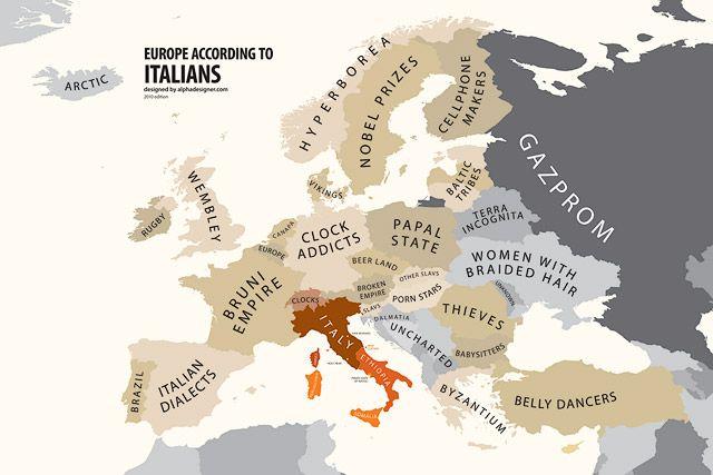 europe according to italians