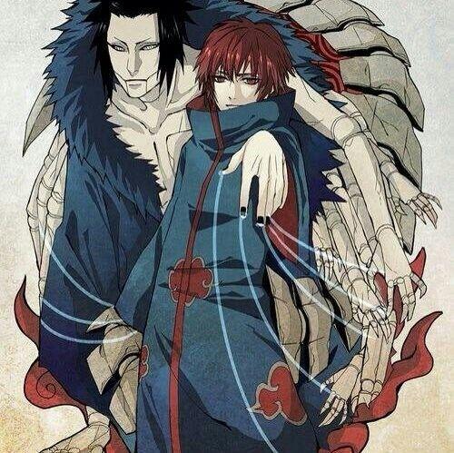 Sasori, Puppet, Third Kazekage, Akatsuki; Naruto