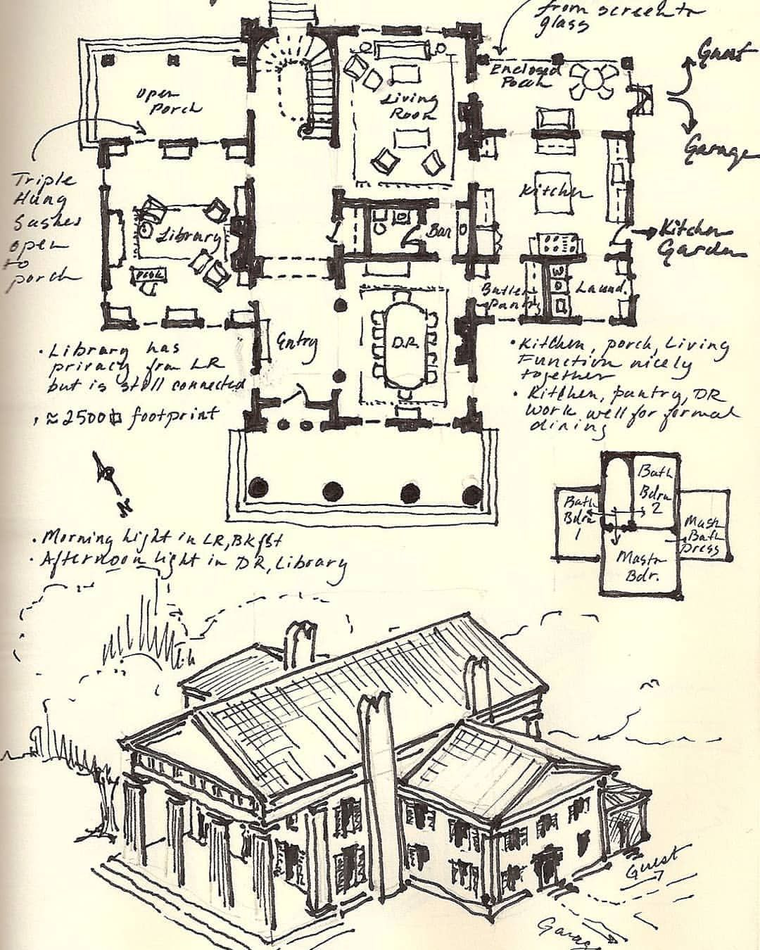 From The Archive Greek Revival Vintage House Plans Greek Revival Home