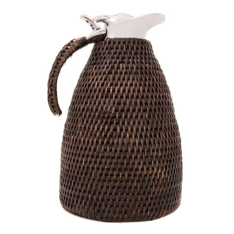 Artifacts Rattan 1.5 L Thermos | Rattan, Home wet bar, Punch