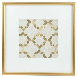 Gold White Quatrefoil Framed Wall Art Shop Hobby Lobby Framed Wall Art Art Craft Store Wall Art Decor
