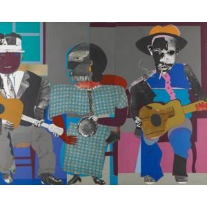 Soul Three, Romare Bearden, 1968, Dallas Museum of Art