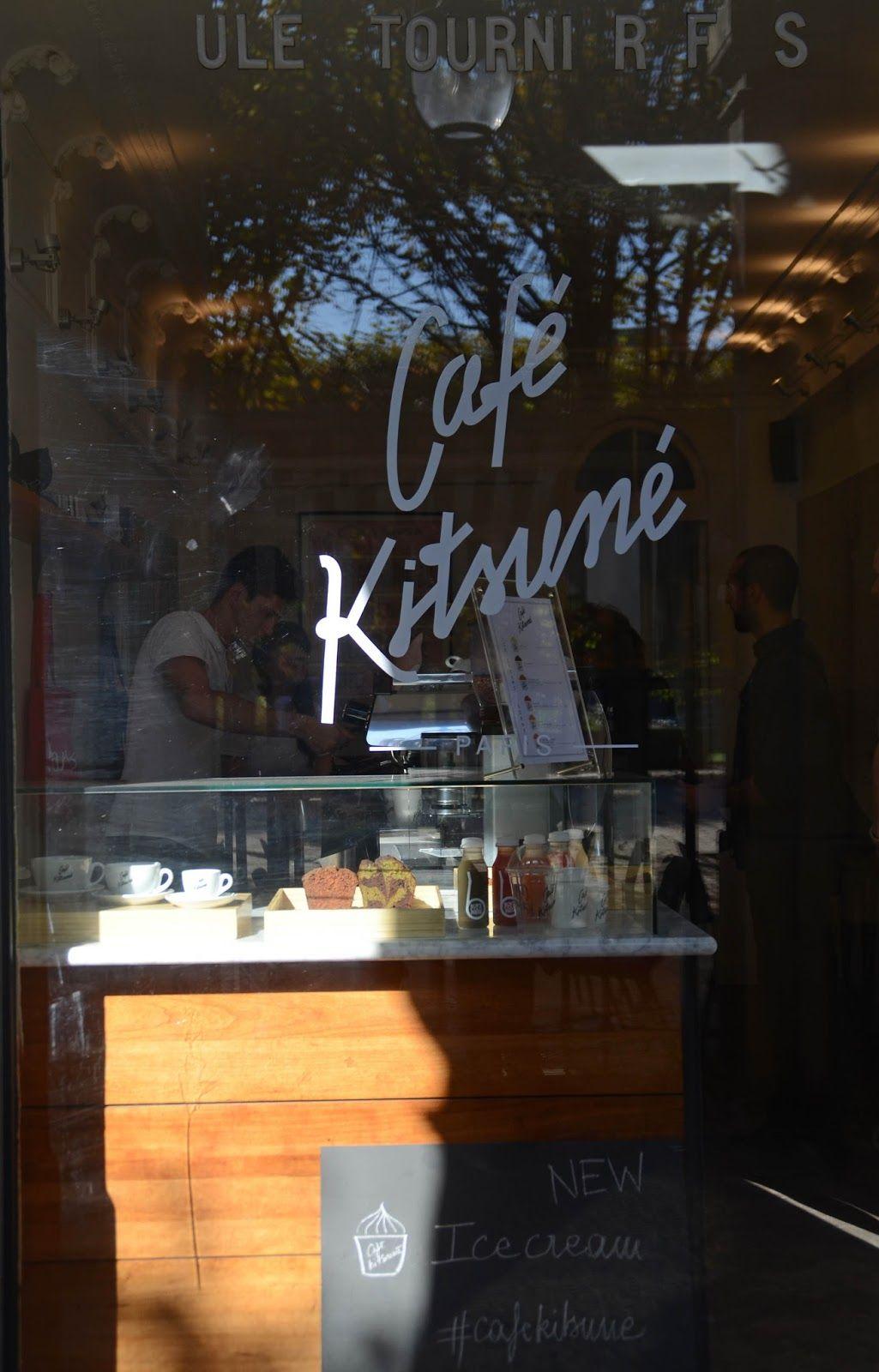Café Kitsuné - Palais Royal, via Paris and Beyond
