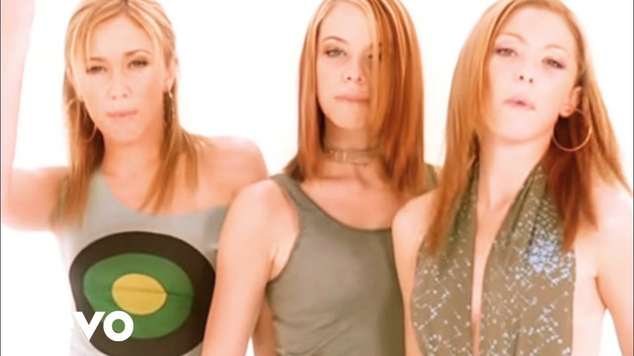 Atomic Kitten Whole Again Number One 10 Feb 2001 4 Weeks 1st No 1 Uk Girl Band With Their Fifth Chart Hit The Song In 2020 Atomic Kitten Music Videos Retro Music