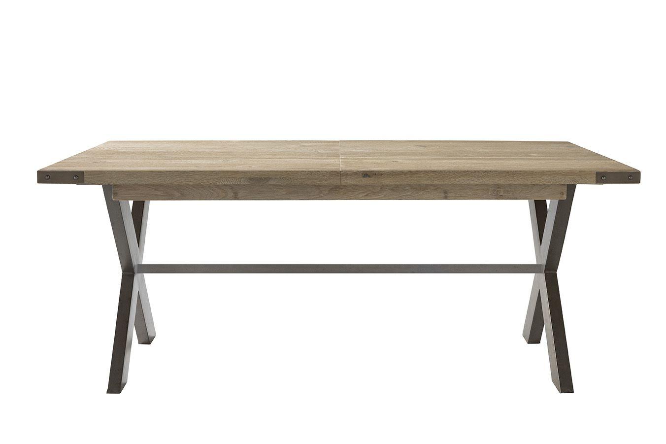 La table STATION est une exclusivité Monsieur Meuble. Ses deux pieds ...