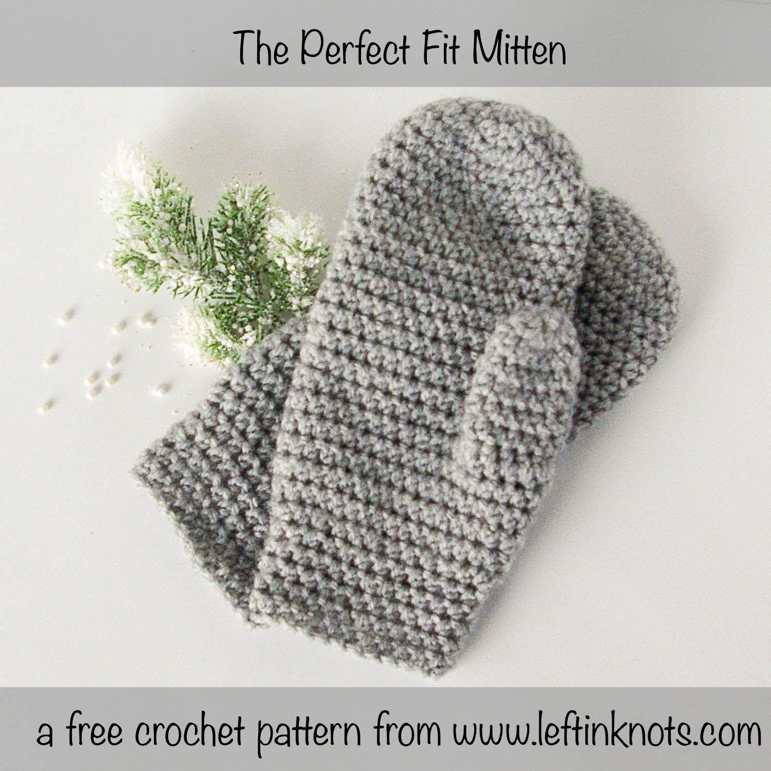 The Perfect Fit Mitten | Guantes, Tejido y Bordado