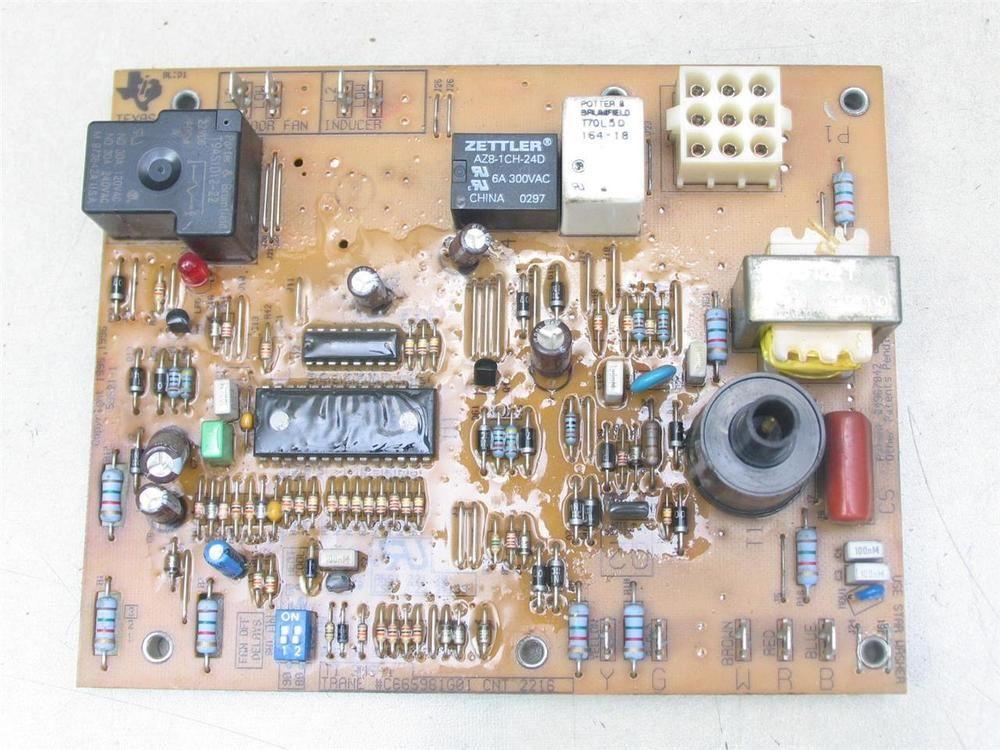 Trane C665961g01 Furnace Control Circuit Board Cnt 2216 Ebay Link