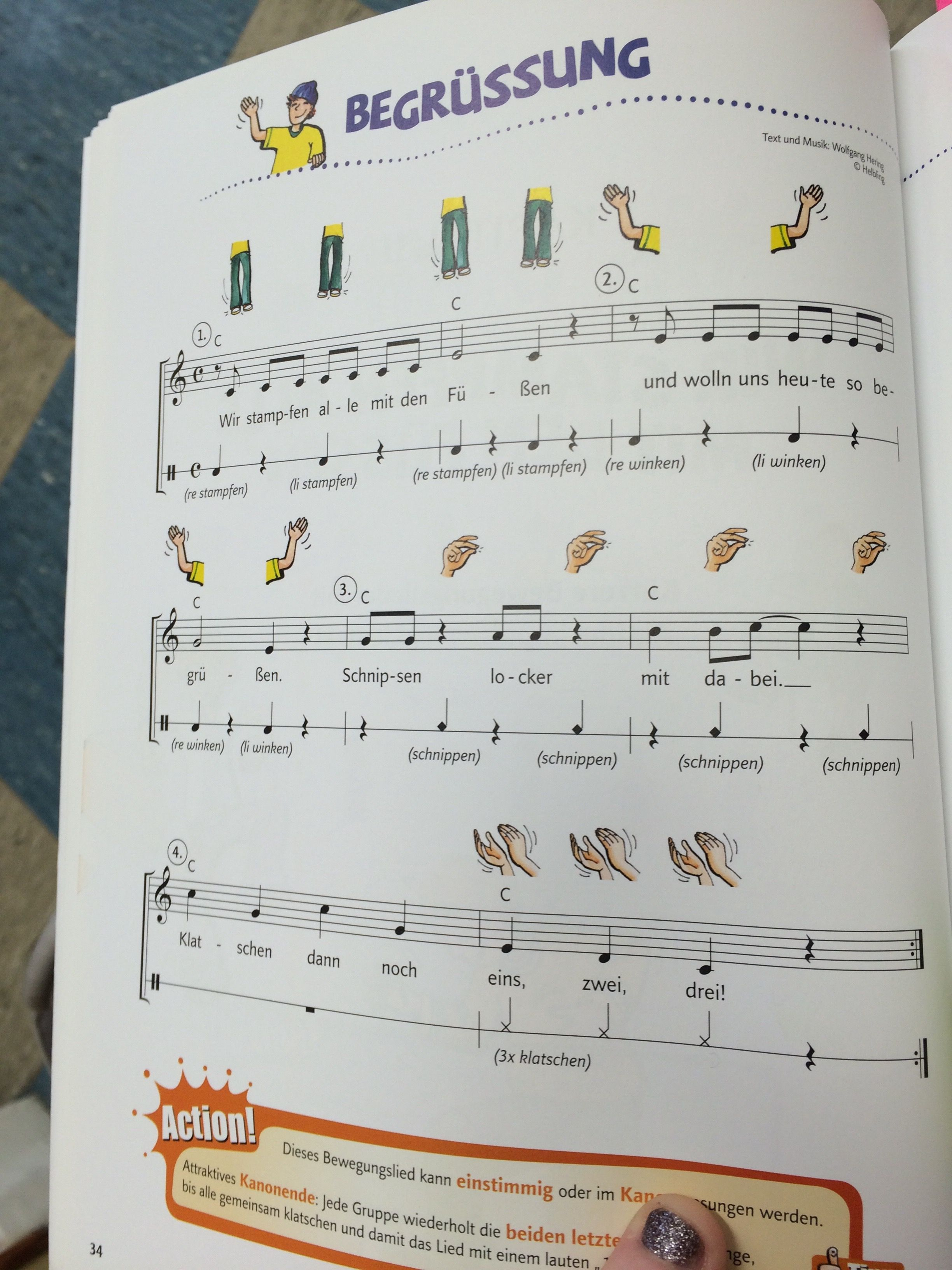 Kinderlieder kennenlernen