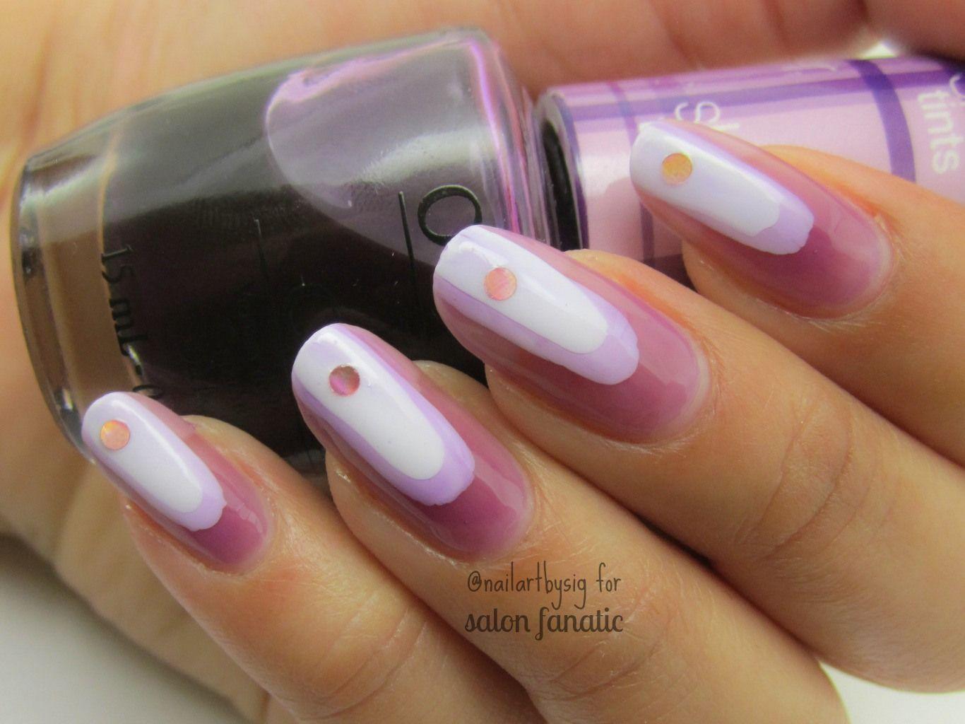 Mani Monday: Abstract Nails With OPI Sheer Tints | Salon Fanatic ...