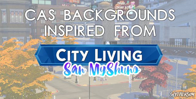 Sims 4 CC's - The Best: CAS Backgrounds inspired from City Living by SLYTH...