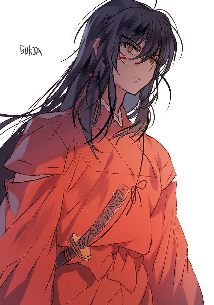 Inuyasha shirtless | Anime, Inuyasha, Anime shows  |Inuyasha Hot
