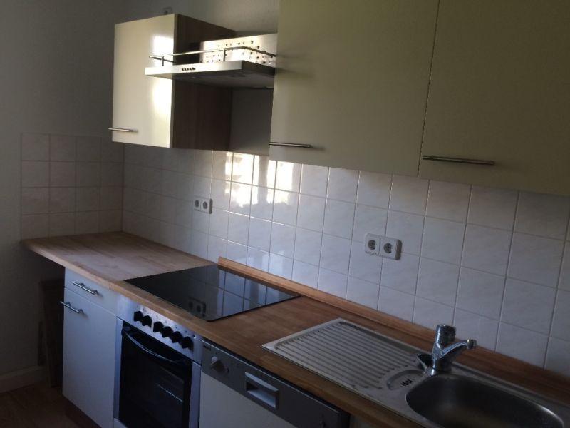 Ich verkaufe meine helle und sehr gut erhaltene Küche (3 1\/2 Jahre - k chentisch aus arbeitsplatte