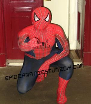 diy halloween diy make your own spider man costume holloween