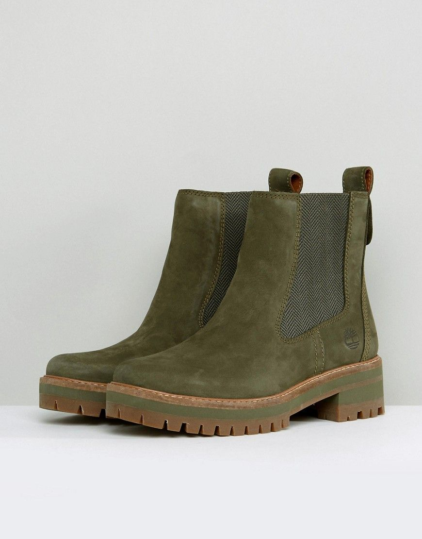 5c5b31bffca Timberland Courmayeur Valley Olive Chelsea Boots | My style ...