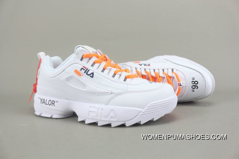 Collaboration .Off-white X FILA Collaboration Publishing ...
