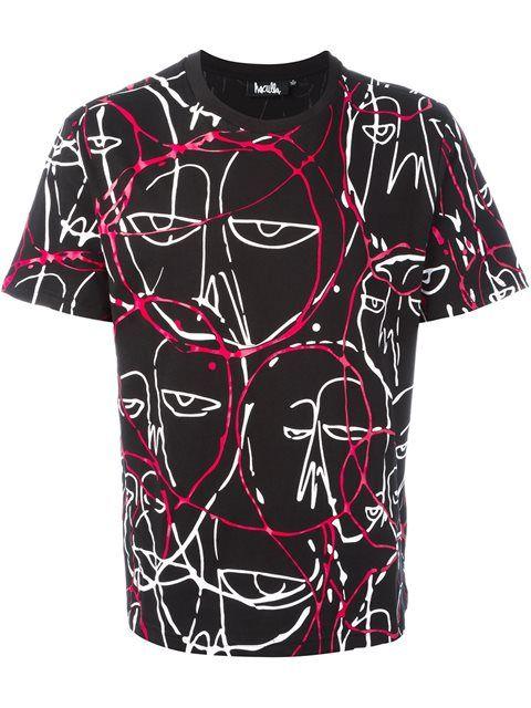 8bce8a6d2045 HACULLA  abstract faces  T-shirt.  haculla  cloth  t-shirt