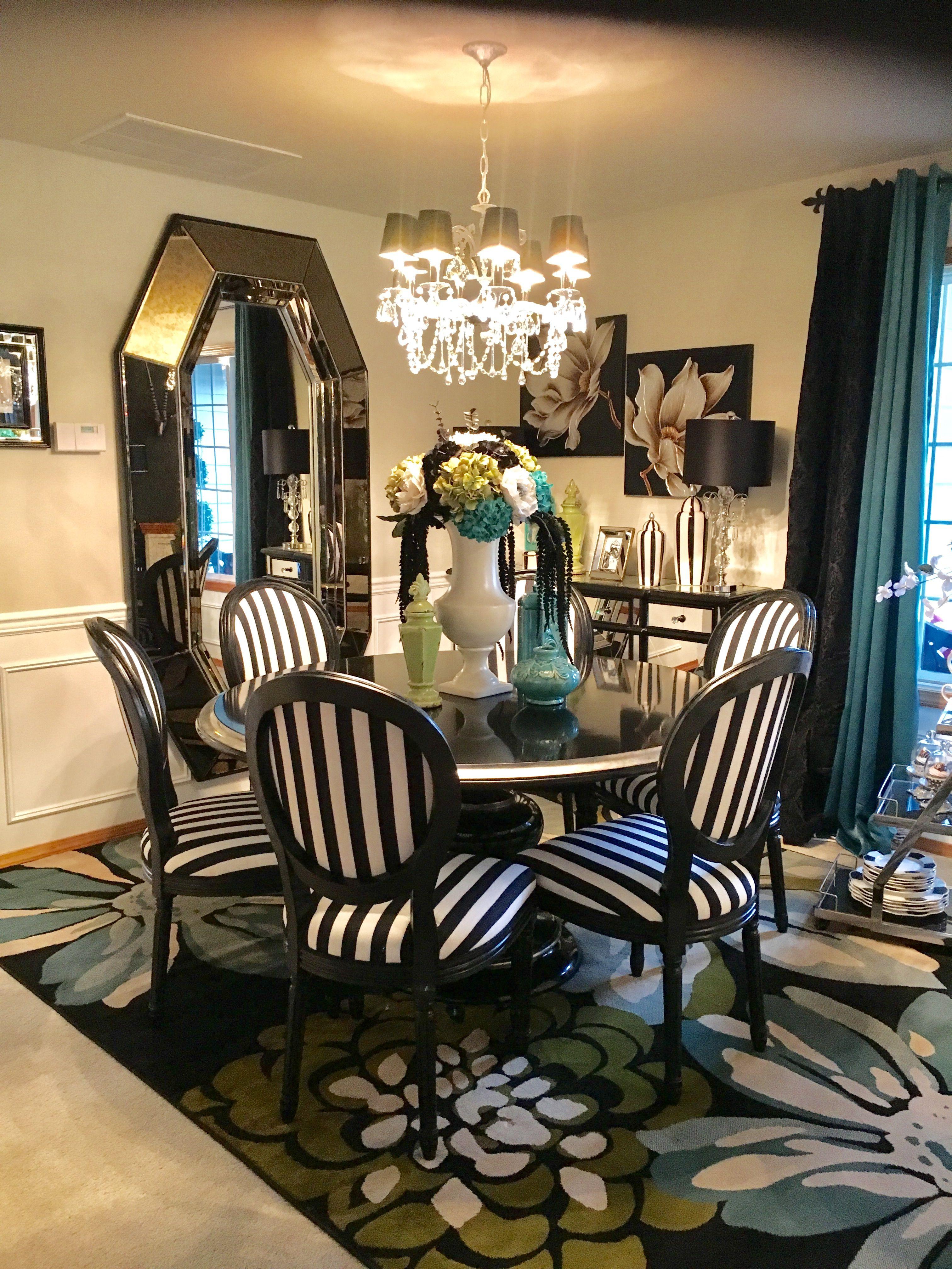 Park Art|My WordPress Blog_Black And White Striped Chair Fabric