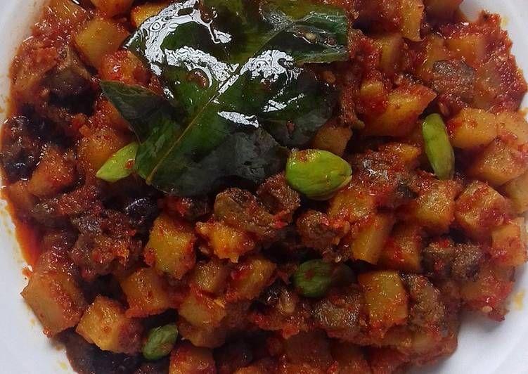 Resep Sambal Goreng Ati Tanpa Santan Oleh Melysa Tisa Haruna S Kitchen Resep Resep Makanan Makanan Babi Asam Manis