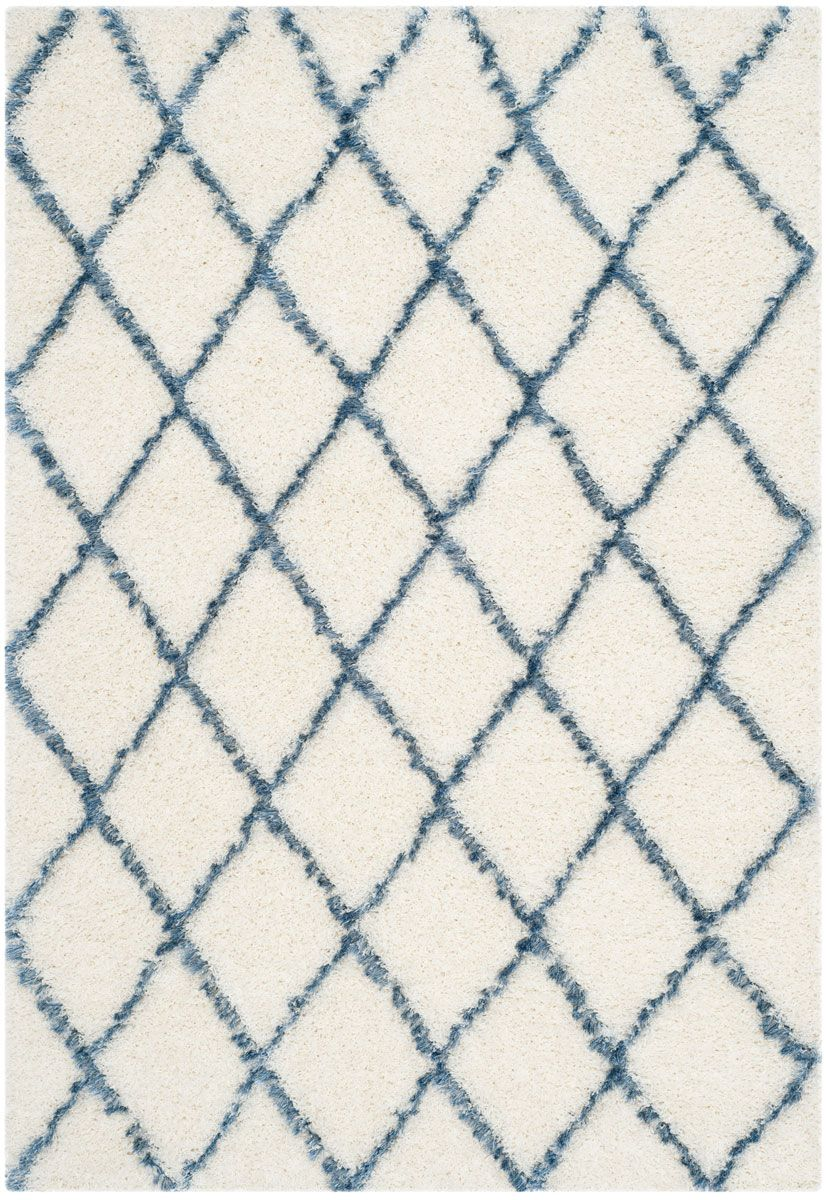 Blue Diamond Shag Rug Safavieh Moroccan Shags Rugs On Carpet Blue Shag Rug Blue And White Rug