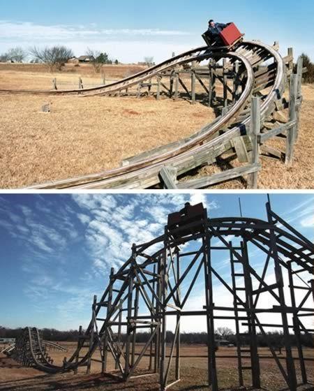 Homemade Roller Coaster In 2019