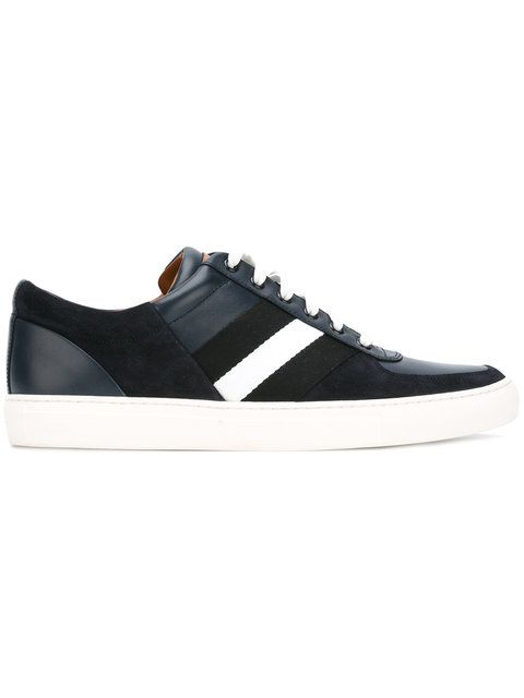 panelled lace-up sneakers - White Bally XYtyp