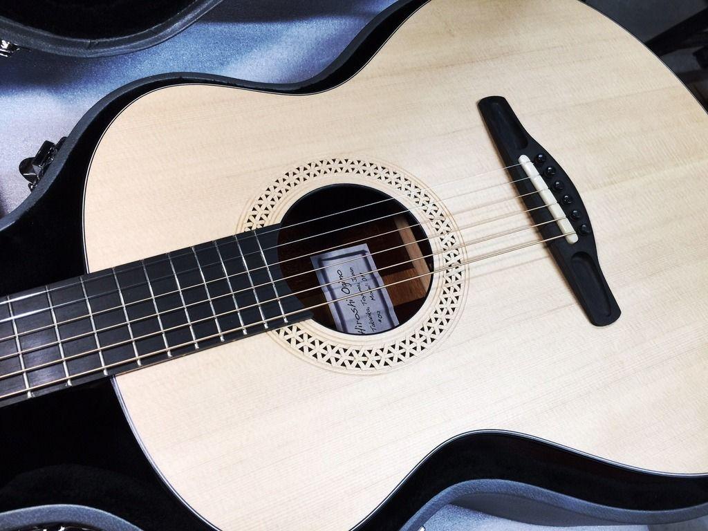 Hiroshi Ogino Build For Tamco Uk Guitar Acoustic Guitar Acoustic