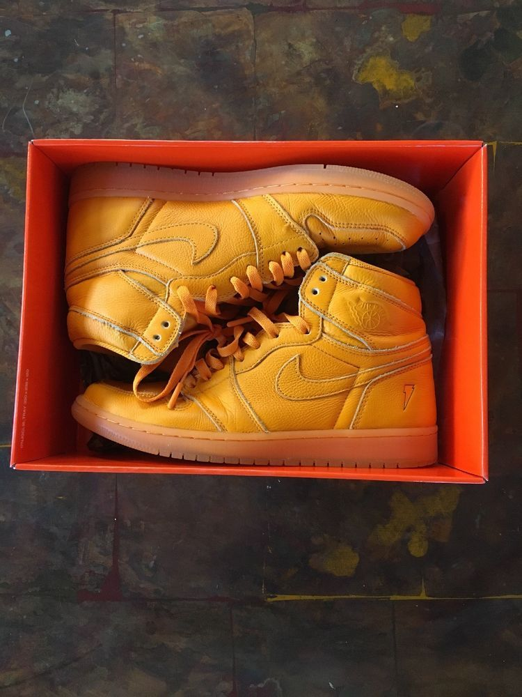 best service 9a3ea 16c50 jordan 1 gatorade orange  fashion  clothing  shoes  accessories  mensshoes   athleticshoes  ad (ebay link)