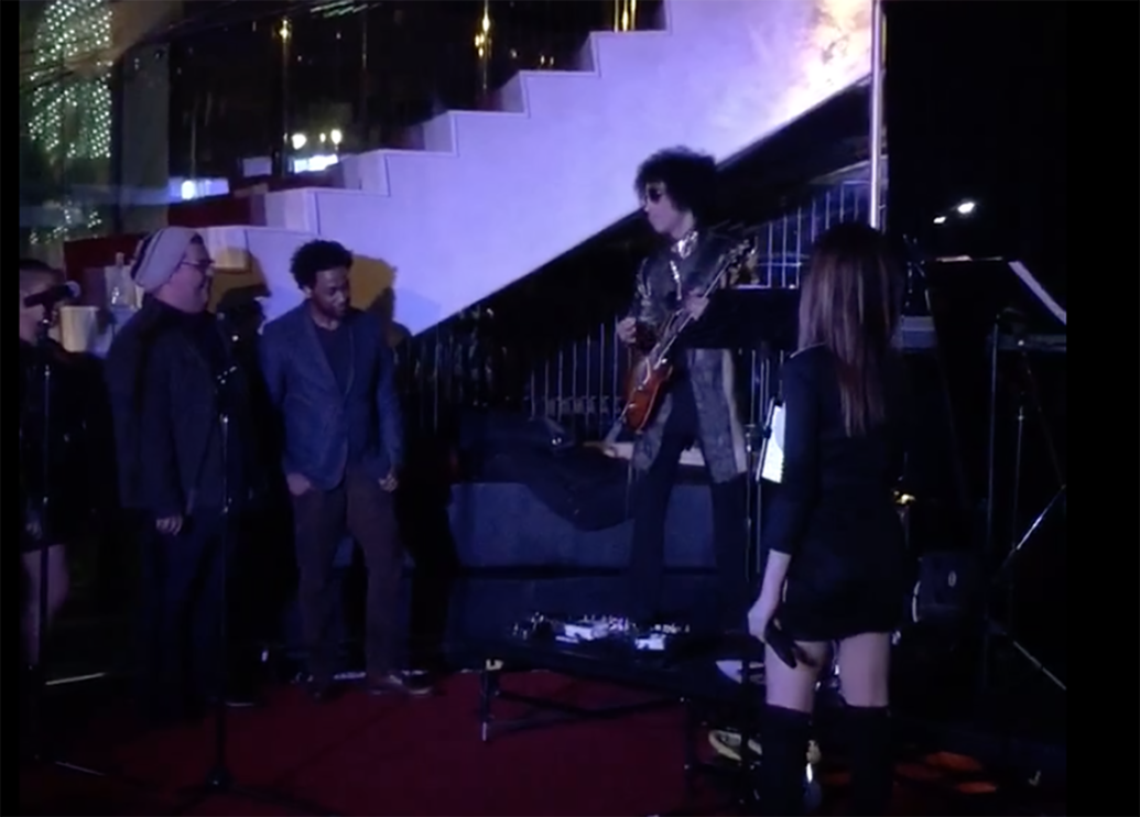 Watch Prince Surprise Jazz Band, Cover Beatles With Epic Guitar Solo - My Prince