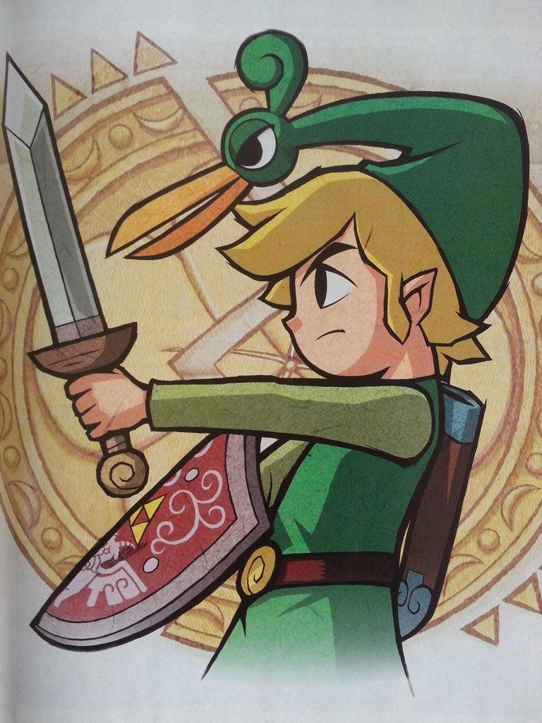 The Legend Of Zelda The Minish Cap : legend, zelda, minish, Minish, Amazing, Artwork, Zelda, Drawing,