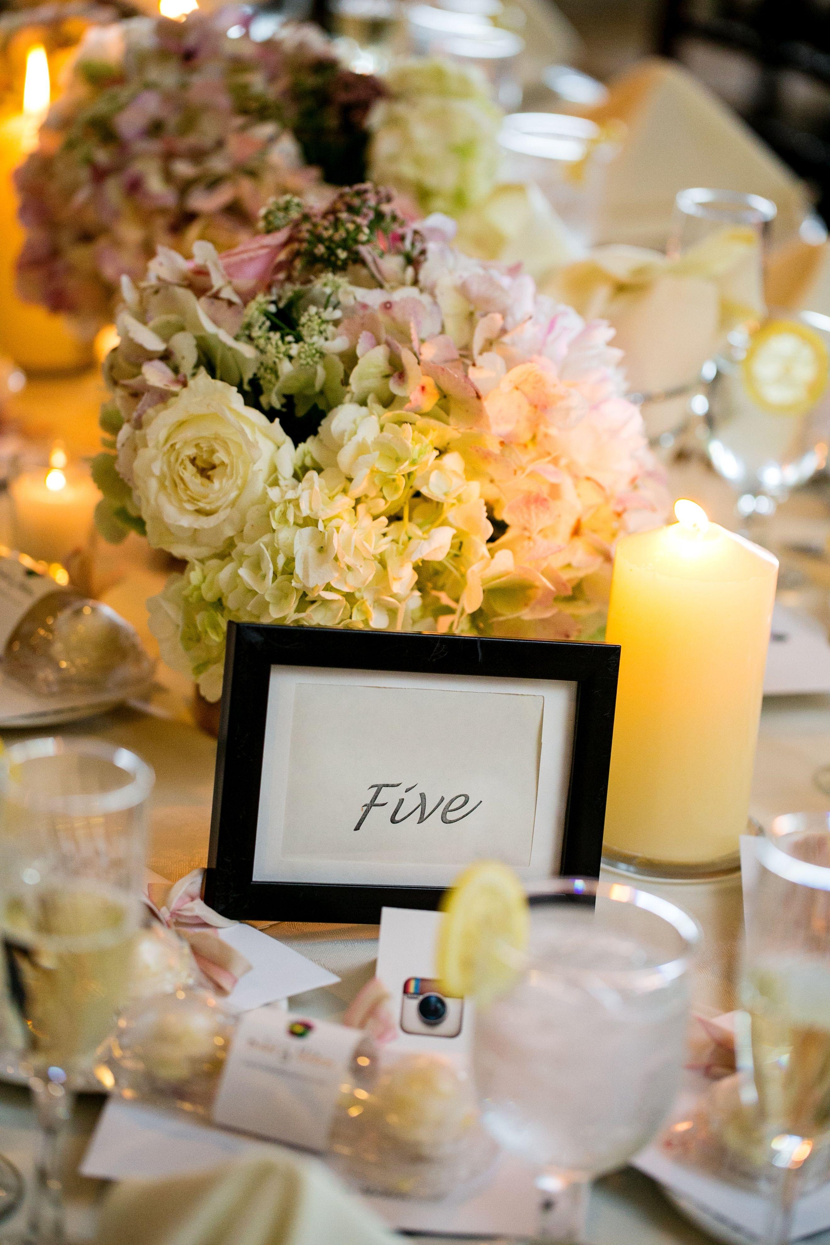 Wedding decorations house  Centerpiece hydrangea and peonies ModernWeddingPhotography