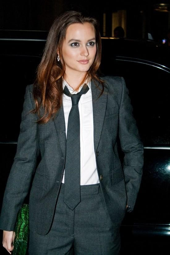 Lovely Ladies In Tuxedos/ Suits ;) Famous And Non-Famous