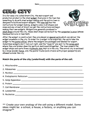 35+ Cell city analogy worksheet pdf answer key Information