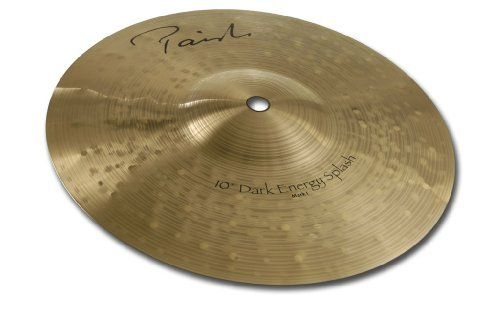 Paiste Signature Dark Energy Cymbal MK I Splash 10-inch by Paiste. $204.60. Forged from proprietary bronze developed specifically for cymbals,handcrafted by highly skilled Swiss sound concepts,Signature Cymbals are instruments of unsurpassed quality for the discerning drummer's quest for personal creativity & musical excellence
