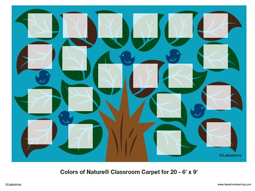 seating chart for colors of nature classroom carpet for 20 6u0027 x