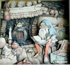 """Blog of an Art Admirer: The Art of Anton Pieck. """"1001 Arabian Nights"""""""