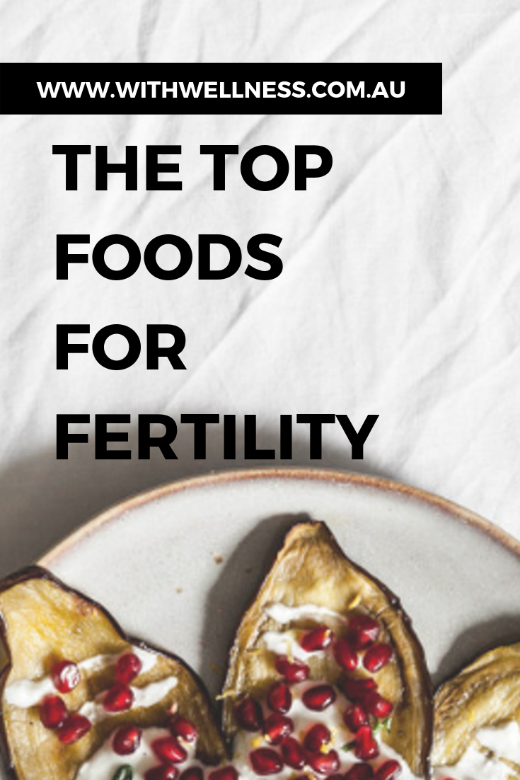 The Top Foods For Fertility Fertility foods, Food, Zinc