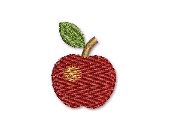 Apple Mini Embroidery Design M10 Creative Embroidery Embroidery