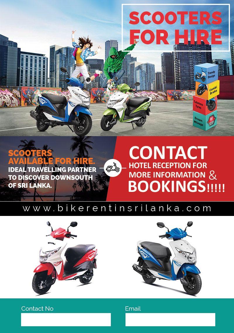 Bike Rent Hotel Reception Flyer Design Flyer