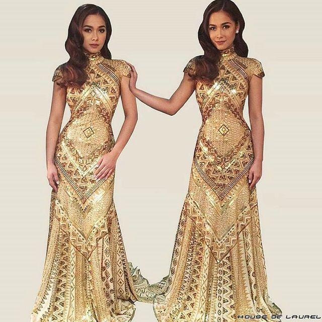 Rajo Laurel Wedding Gowns: 5 Celebrities Who Have Worn Rajo Laurel's Pintados Gowns