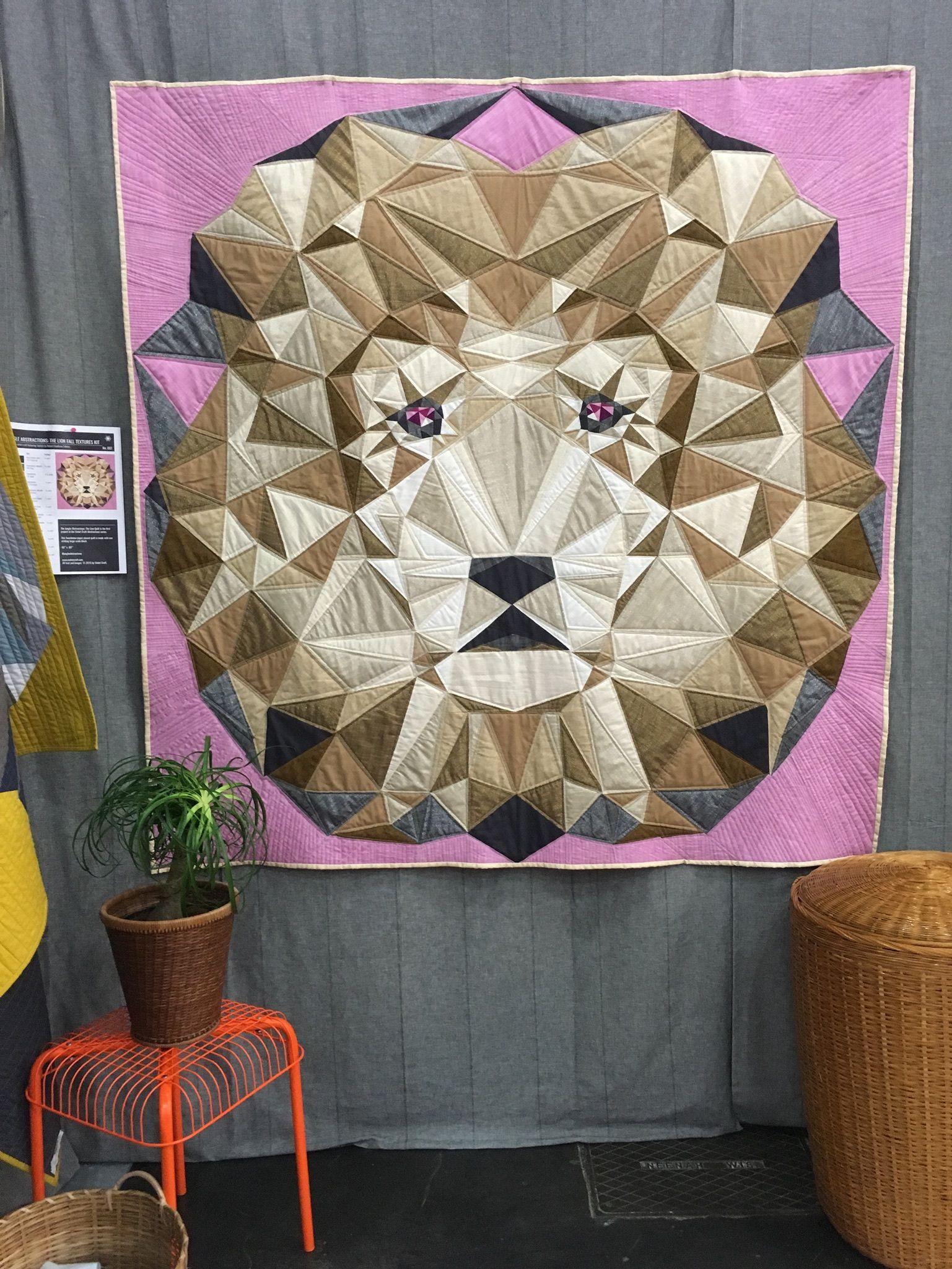violet craft jungle abstractions quiltmarket quilt