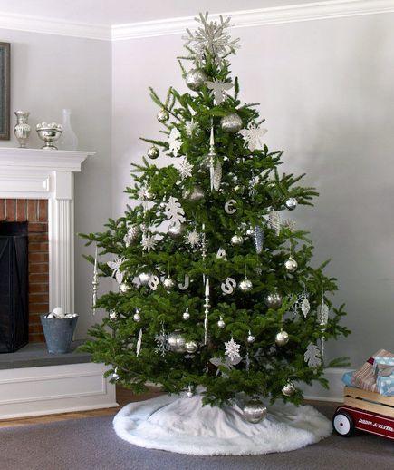 Elegant Christmas Tree | Elegant evergreen christmas tree