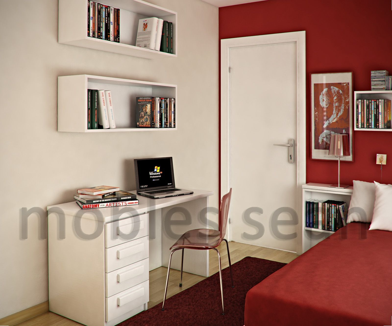 Best Space Saving Designs For Small Kids Rooms White Kids 400 x 300