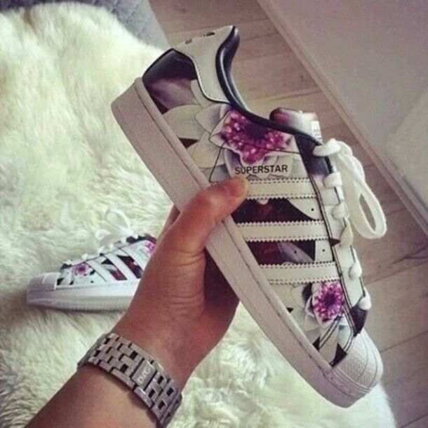 adidas originals superstar womens purple